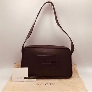 Authentic Gucci Leather Tom Ford Era Shoulder Bag